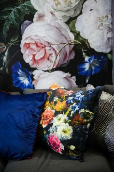 Bold botanical prints is a trend that isn't going anywhere this year. The interior design style was a key feature at this year's 2018 Johannesburg HOMEMAKERS Expo.