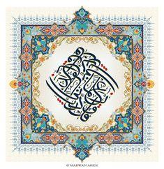 127-Arabic Calligrapy and and Islamic Ornaments by MarwanAridi