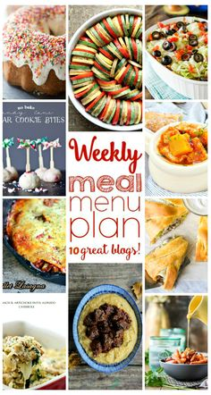 Weekly Meal Plan Week 22 - 10 great bloggers bringing you a full week of recipes…