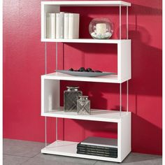 Home Decorating Style 2019 for 71 Fabelhaft Moderne Regale, you can see 71 Fabelhaft Moderne Regale and more pictures for Home Interior Designing 2019 88911 at Wohnzimmer Deko Ideen. Fabric Storage Boxes, Fabric Bins, Large Shelves, Wood Shelves, 4 Shelf Bookcase, Kairo, Regal Design, Homestead Living, Particle Board