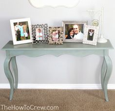 How To Paint Furniture Using Chalk Paint | Family, Food, Fun.