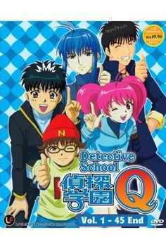 Tantei Gakuen Q at Gogoanime Detective Shows, Anime Dvd, The Ordinary, Crime, Japanese, Cartoon, Comics, School, Fictional Characters