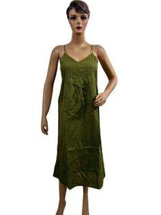 Womens Dresses Green with V-neck Pure Cotton Summer Beach Wear Sundress Small Mogul Interior, http://www.amazon.com/gp/product/B0099I7FXO/ref=cm_sw_r_pi_alp_HLuuqb16P9BTH