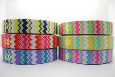 New 1 Free shipping 6 colors chevron printed grosgrain ribbon hairbow diy party decoration wholesale OEM 25mm P767 on AliExpress.com. 6% off $17.86