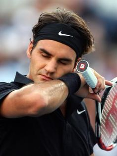 Roger Federer He can play tennis in his sleep.(;