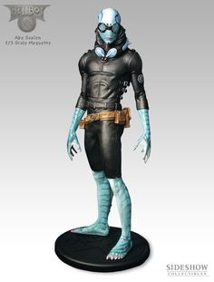 Abe Sapien maquette Hellboy movie by sideshow, Scale 1/3