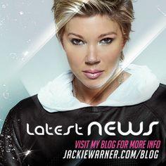 Jackie Warner, Back On Track, So Little Time, I Hope You, Personal Trainer, Announcement, Blog, Blogging