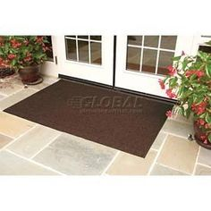 Brush Hog Plus Outdoor Entrance Mat 35x116 Brown by THE ANDERSEN COMPANY. $218.95. BRUSH HOG PLUS OUTDOOR ENTRANCE MATS Brush Hog Plus entrance mats won't fade in the sunlight, making them ideal for outdoor applications. Entrance mats are made using high performance solution dyed nylon facing with turf-pile fabric that filters dirt and moisture away from the surface. Bi-level reinforced surface offers improved filtration performance. Premium rubber backing will not crac...