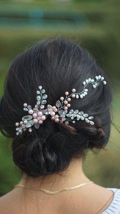Kanzashi 1 Innocence Japanese Clip hair clips hair por WowMyBowShop
