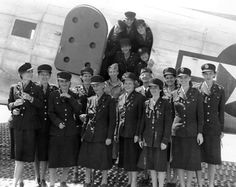 """A photo of military nurses, dubbed """"The Angels of Bataan and Corregidor,"""" as they were evacuated from the Philippines having spent nearly three years as POWs of the Japanese Army. Mildred Manning, the last of the angels to pass away, died on March 8, 2013 at the age of 98."""