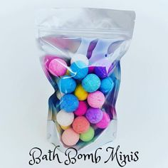 Bath Bomb Minis - ~ Our Bath Bomb Minis are tiny little bath bombs that act just like our regular bath bombs … just - Bubble Bath Bomb, Mini Bath Bombs, Lush Christmas, Christmas 2017, Bath Booms, Bath Bomb Packaging, Homemade Business, Bath Bomb Gift Sets, Diy Body Scrub