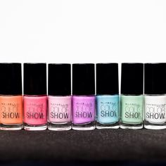 When it comes to manicures, it's always best to have options. #colorshowoff