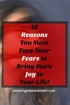 #joy #freedom #happiness #wordsofencouragement Is fear still stopping you from joy? Here are 10 reasons to face it now.  via @Iva Ursano|Amazing Me Movement