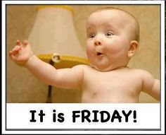 I love Fridays! Do you? :-) https://www.facebook.com/IDontWantToComplainBut