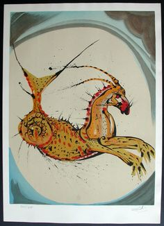 Mystic Medusa: Salvador Dali's Zodiac Illustrations