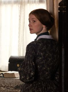 Mia Wasikowska in the title role ofJane Eyre(2011).