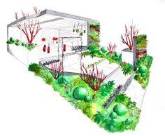 alexandra froggatt garden representation with strong colours