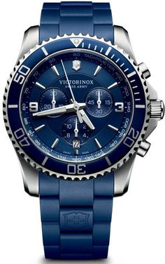 Victorinox Swiss Army Watch Maverick Chronograph #bezel-unidirectional #bracelet-strap-rubber #brand-victorinox-swiss-army #case-material-steel #case-width-43mm #chronograph-yes #classic #date-yes #delivery-timescale-call-us #dial-colour-blue #gender-mens #movement-quartz-battery #official-stockist-for-victorinox-swiss-army-watches #packaging-victorinox-swiss-army-watch-packaging #style-sports #subcat-maverick #supplier-model-no-241690…