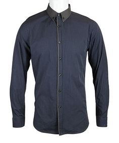 Take a look at this Black Stripe Charter Button-Up - Men & Plus by Sovereign Code on #zulily today!