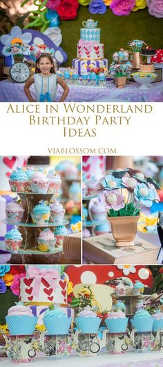 Alice in wonderland Party ideas for an Amazing Mad Hatter Tea Party!!!