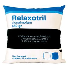 Almofada Relaxotril - R$ 63,00