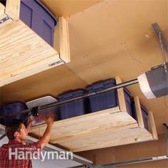 Easy Garage Storage Solutions - Step by Step | The Family Handyman