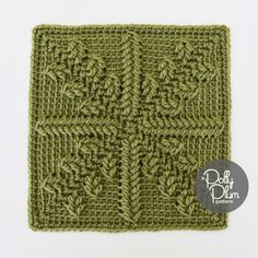 On the Street Where You Live - free crochet square pattern with video by Polly Plum at Every Trick on the Hook.