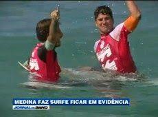 Galdino Saquarema Esporte: Grabriel Medina coloca surfe em evidência no Brasil..