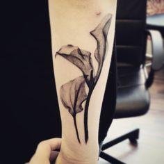 calla lily tattoos - Google Search