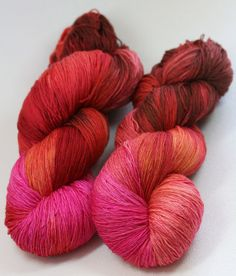 Swirl on Fire - hand painted Epic merino sock yarn - 150 g