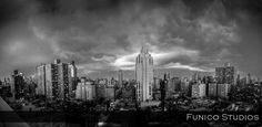 Funico Studios - New York Wedding Photographers & Videographers. Sharing Our Thoughts With You. Nyc Skyline, New York Wedding, Spaces, Thoughts, Studio, Travel, Viajes, Studios, Destinations