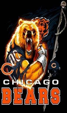 Chicago Bears Pictures, Nfl Chicago Bears, Bears Football, Bear Photos, Football Rules, Football Baby, Football Players, Football Helmets, Chicago Blackhawks Wallpaper