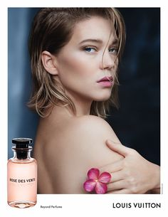 Lea Seydoux stars in Louis Vuitton fragrance campaign