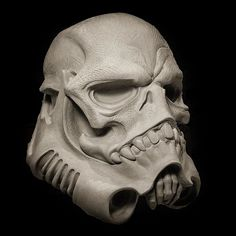 Skulltrooper by Samuel Boulesteix x Blackout Brother (12/20/15 at boulesteix-sculpteur.com) #skulltrooper #bonetrooper #samuelboulesteix #blackoutbrother #starwars #stormtrooper #blackoutwork #sculpture #awesome #cool #instacool #beautiful #beauty #amazing #love #instalove #fun #art #instagood #collectible #toy #new