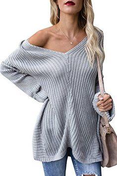 Womens Tops Tunic Long Sleeve Oversized Knit Fall Cute Wo...