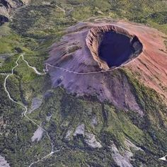 Vesuvius (Italy) from above