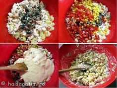 Salata de pui cu cartofi - Hai să gătim cu Amalia Grains, Rice, Food, Salads, Meal, Eten, Meals, Jim Rice, Korn