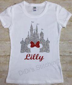 DISNEY Cinderella Castle Long Sleeve Crew Shirt - from Walt Disney World Resort - Disney shirt - high quality apparel - choose color FXBMM