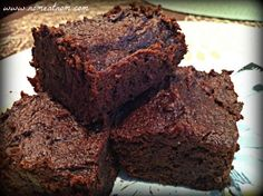 I'll have to use a different oil and regular old flour, but something tells me, these Pumpkin Fudge Brownies will still be outstanding!