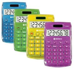 Teledex Inc DH-60-C Ice Color Dual Power Handheld Calculator by Teledex Inc. $9.25. Hand protection.. • Calculator• Handheld• Great for students• Dual powered• Runs on solar power or batteries• Ice color