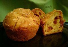 Kolbászos-sajtos muffin Ricotta, Ham, Breakfast Recipes, Brunch, Food, Recipes For Breakfast, Essen, Hams, Yemek
