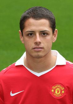 Javier 'Chicharito' Hernandez of Manchester United poses at the annual club photocall at Old Trafford on August 13 2010 in Manchester England Old Trafford, Man Utd Fc, Manchester England, Manchester United Football, Poses, Club, Football Players, Premier League, Champion