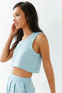 Mary Meyer Cropped Tank Top - Urban Outfitters