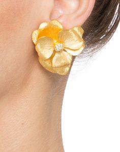 Kenneth Jay Lane Gold-tone Clip Earrings kOmRhl1nzO