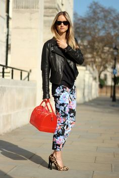 f2e7c90fb3 Floral pants is an evergreen outfit but it gets difficult for many to style  it in