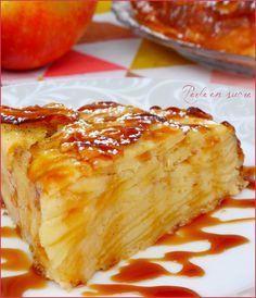 Gâteau invisible aux pommes