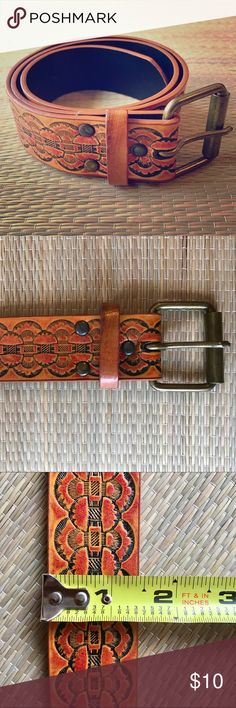 """Vintage Southwest Belt Vintage belt with southwest pattern in gently worn condition (only worn a few times). So cool and funky! Measures 36"""" long and 1.5"""" width. Sorry, no trades. Vintage Accessories Belts"""