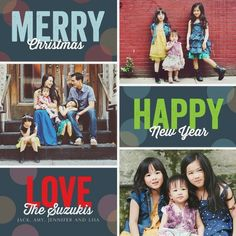 Merry Happy Moments Christmas Cards simplyput by Ashley Woodman. #TinyPrintsCheer