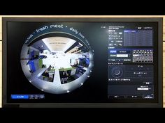 Video : Panasonic 9-megapixel Omnidirectional Camera with Intelligence Features | Technology | Japan Bullet