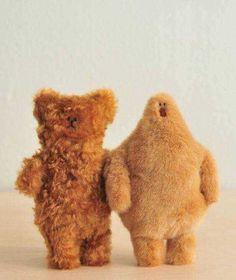 Fluffy creatures by Marc and Emma. Via Knuffels à la carte.